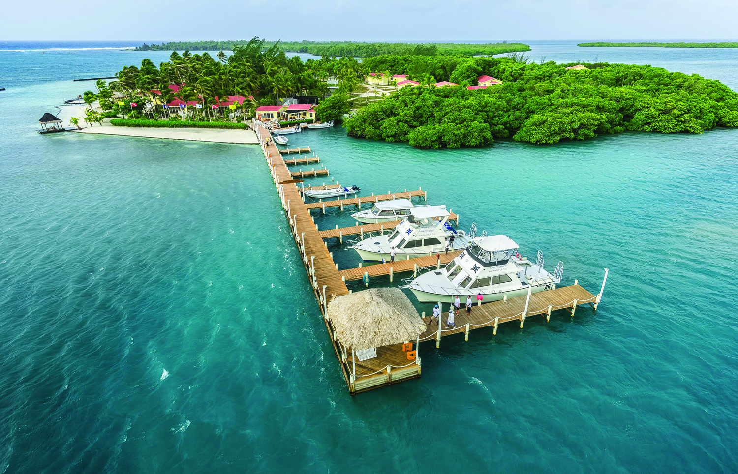Turneffe Island Resort, Belize.