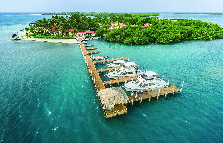 Turneffe Island Resort, Belize.