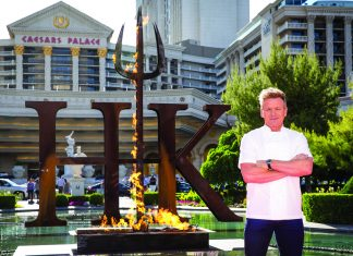 Gordon Ramsay of Hell's Kitchen. (Erik Kabik)