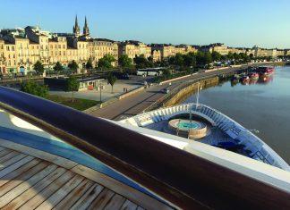 Star Legend docked in Bordeaux. (Laurel Herman)