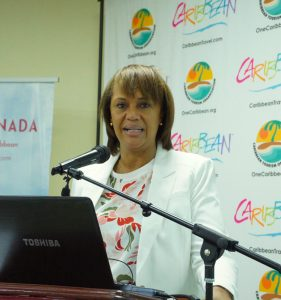 Joy Jibrilu, director general for the Bahamas Ministry of Tourism and chair of the CTO Board of Directors.