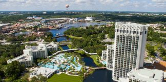 Hilton Orlando Buena Vista Palace is one of several resorts in the Disney Springs area offering holiday discounts.