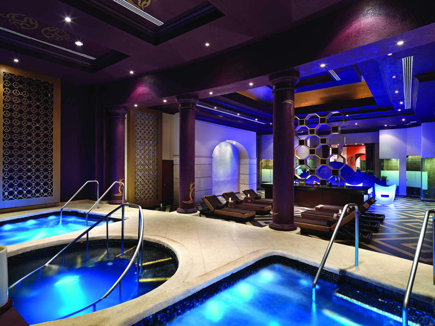 Hard Rock Hotel Riviera Maya spa.