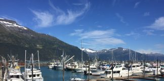Whittier, Alaska, is the gateway to Prince William Sound. (Paloma Villaverde de Rico)