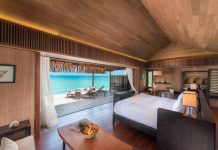 Over Water Villa with Pool Day Conrad Bora Bora Nui