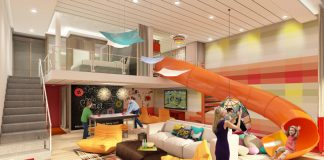 Symphony of the Seas will be the world's largest cruise ship and feature new additions like the two-level Ultimate Family Suite.
