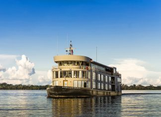 Agents on the Tara Tours FAM trip in Peru will explore the Amazon on a river cruise.