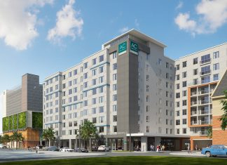 The Ac Hotel Gainesville Downtown will open its doors in early 2018.