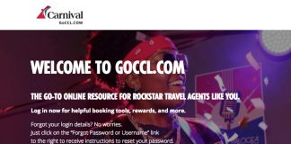 Information on the newly designed website can only be accessed via login, making it a website truly for travel agents.