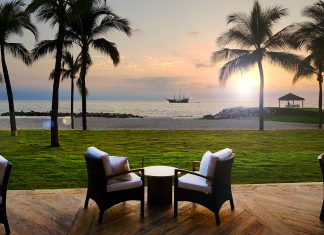 Waterfront dining is one of several new additions to the renovated Fiesta Americana Puerto Vallarta All-Inclusive & Spa.