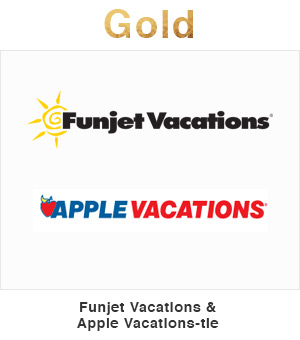 Funjet Vacations & Apple Vacations tie