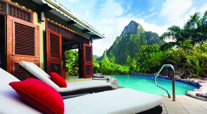 The Gardenview Orchid Villa at Stonefield Villa Resort.