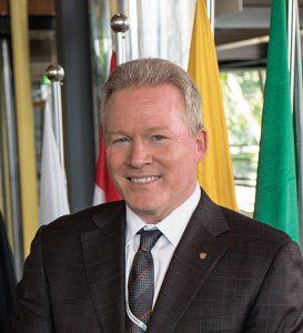 Windstar Cruises' president John Delaney.