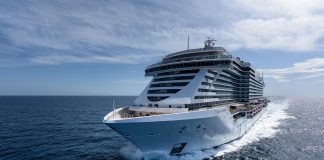 The recently delivered MSC Seaside will make its way to Miami in December.