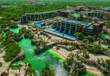 The Hotel Xcaret Mexico in Riviera Maya opens this month.