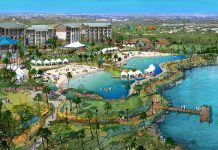 The 300-acre Margaritaville Resort Orlando is set to open in late 2018.
