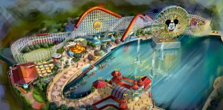 A rendering of what guests can expect at the new Disneyland Pixar Pier. (Photo courtesy of Disneyland.)