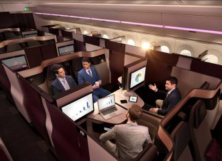 Qatar Airways' Qsuites are coming to two U.S. cities in the next coming months.