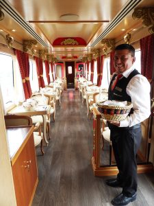 Stunning views and excellent service await guests aboard the Tren Crucero.