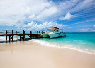 The Southwest Airlines route marks the seventh major carrier to service Turks and Caicos.