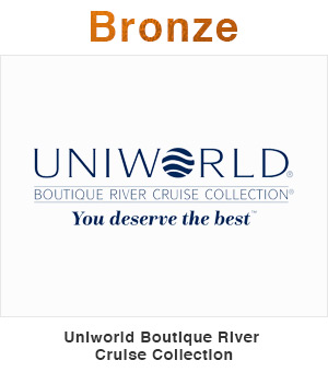 Uniworld Boutique River Cruise Collection Bronze