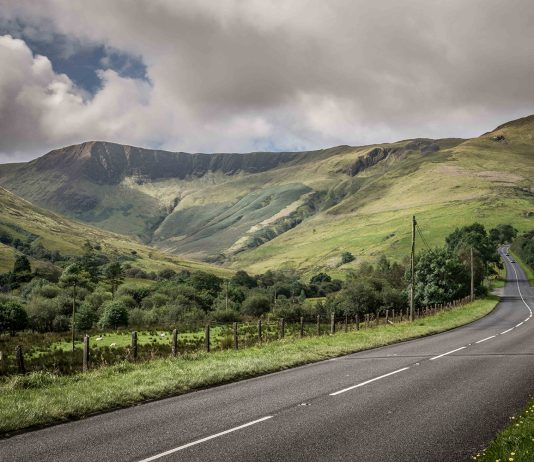 Visitors can discover Wales' countryside and more on The Wales Way scenic tour routes.