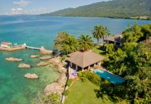 Featured here is one of six villas by Bluefields Bay Country Retreat on the Sea, where agents can received increased commissions for booking clients this holiday season.