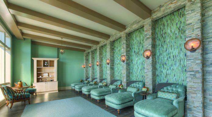 The Spa Lounge at Salamander Spa.