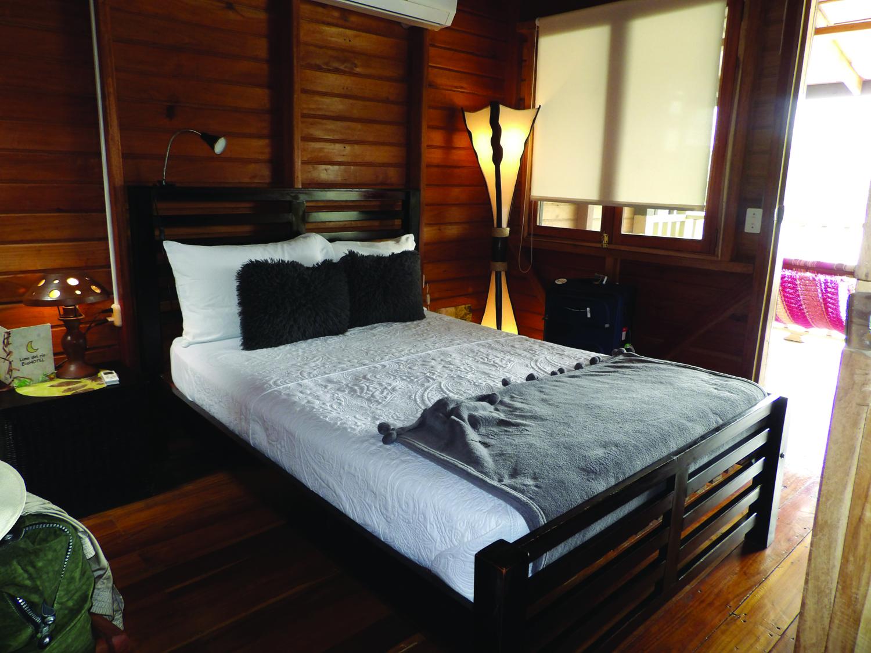Guestroom at Hotel Luna del Rio. (Carla Hunt)