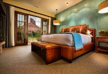 Colorado's red rock canyons will provide the backdrop of Gateway Canyons Resort & Spa's Winter Wellness Weekend.