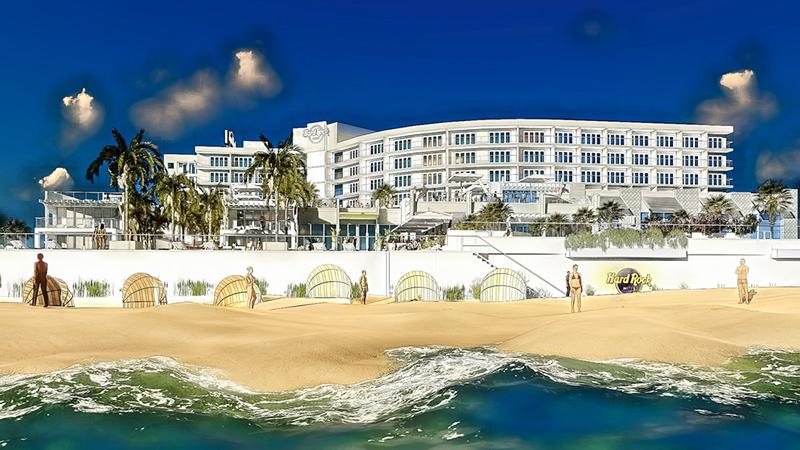 The Hard Rock Hotel Daytona Beach will be the third Hard Rock property in Florida.