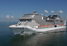 MSC Meraviglia will head to New York for its inaugural season before homeporting in Miami.