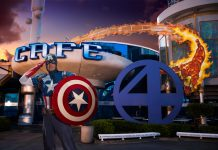 Captain America is just one of several superheroes that will join guests at the new Marvel Character Dinner at Universal's Islands of Adventure.