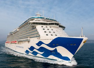 Princess Cruises' fourth Royal-class ship will sail the Mediterranean for its inaugural season.