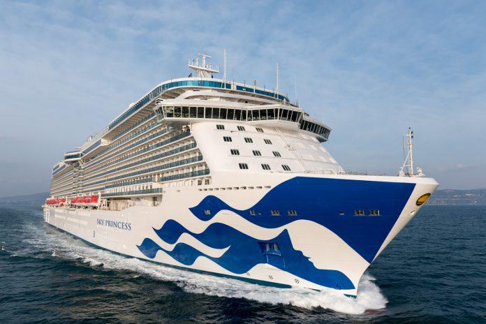 Princess Cruises' fourth Royal-class ship will sail the Mediterranean for its inaugural season.