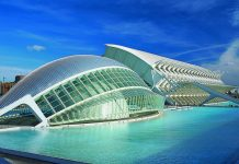 Ciudad de las Artes y las Ciencias (City of Arts & Sciences) in Valencia, Spain