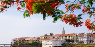 Views of Panama City's Casco Viejo .