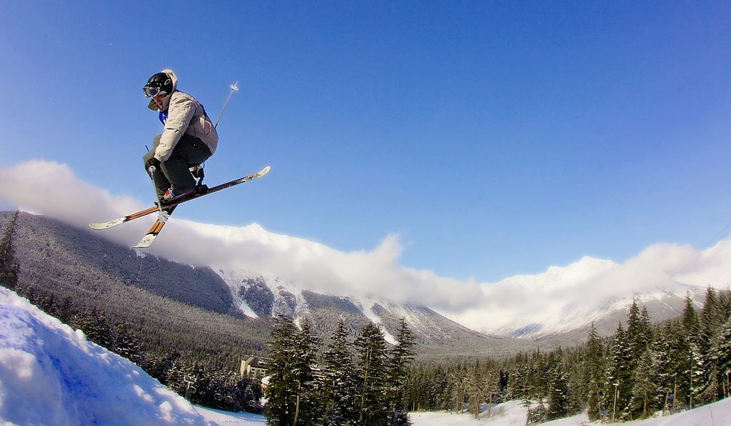 With terrain for skiiers and snowboarders of all levels, anyone can hit the slopes in Anchorage. (Photo Credit: Alyeska Resort)