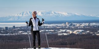 Trails at the foothills of the Chugach Mountains offer views overlooking Anchorage. (Photo Credit: JodyO.Photos)