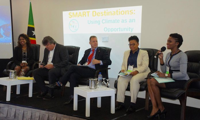 Speakers at the Caribbean Tourism Organization's Climate-Smart Sustainable Tourism Forum spoke on a variety of issues from climate change to resilience post-natural disasters.