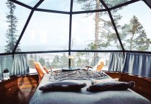 Cox & Kings, The Americas offers bespoke experiences including stays in sumptuous glass igloos in Finland.