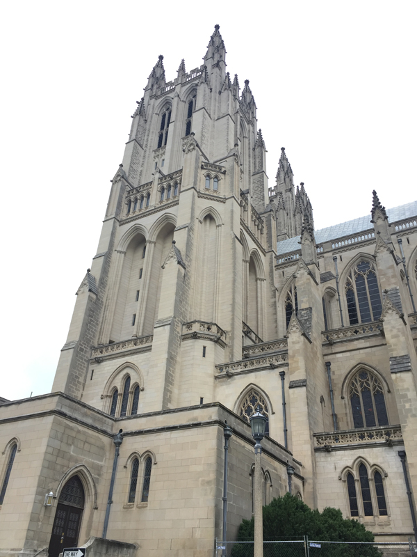 Washington National Cathedral.