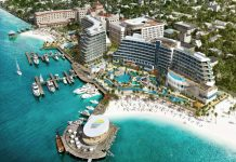 Renderings show the future of Margaritaville at The Pointe opening in The Bahamas' capital city.