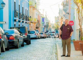 Steve Simao, v.p. of sales at Windstar Cruises, visited San Juan, Puerto Rico and other islands impacted by the 2017 hurricane season on his recent trip to the Caribbean.