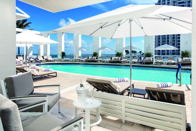Conrad Fort Lauderdale Beach Sky Deck.