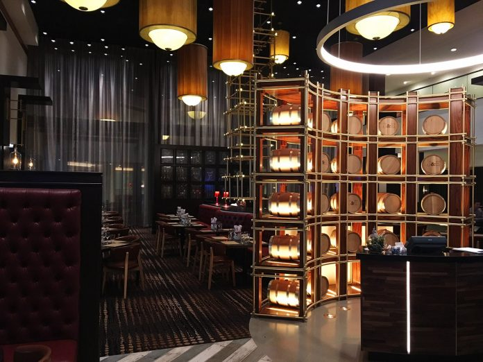 Restaurant and lobby bar, Jake & Eli, has replaced the casino floor inside The Westin Las Vegas Hotel & Spa.