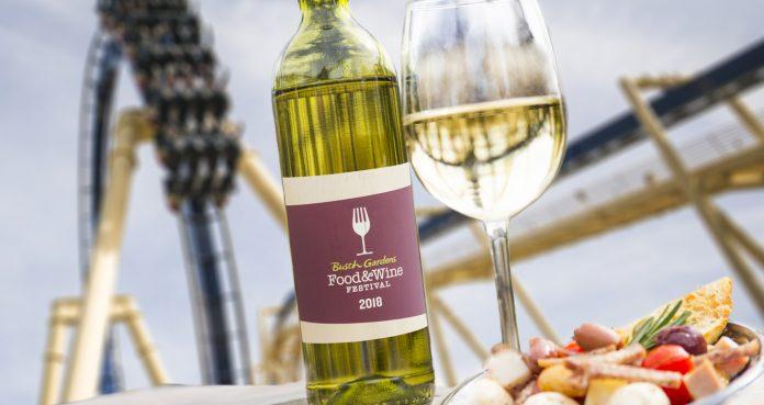 Busch Gardens Food & Wine Festival