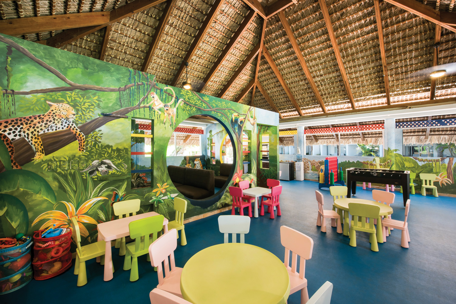 The re-imagined kids club at Occidental Punta Cana in the Dominican Republic.
