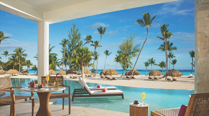 The Preferred Club Bungalow Suite Swim Out Ocean Front accommodations.