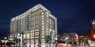 Rendering of Hard Rock Hotel New Orleans.